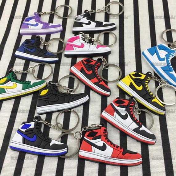 Basketball Shoes Shape Keychain Wadding Cotton Hot Sale Little Souvenirs Keyrings
