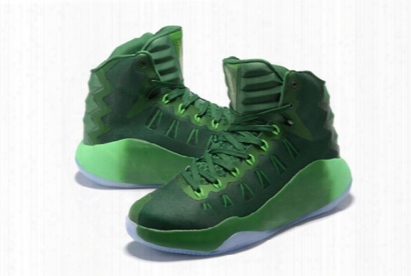 Cheap Hyperdunk Basketball Shoes For Meen High Top 2016 Olympic Sneakers Green Blue Black Retro Trainers Mens Sports Boots 40-46