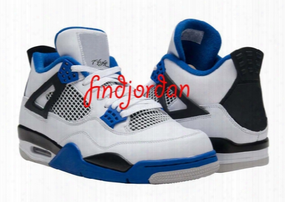Cheap Men New Basketball Shoes Air Retro 4 Motorsports 4s Mens Sports Sneakers Free Shipping Online Real Running Discount Price With Box