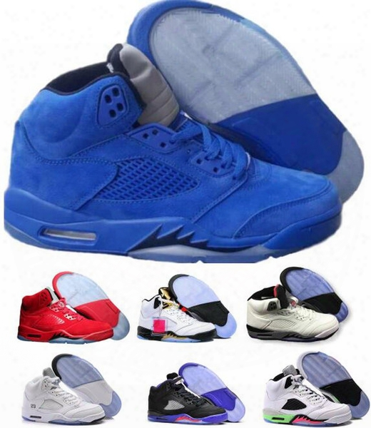 Cheap Retro 5 Basketball Shoes Sneakers Retroos 5s Shoes Men Women New Authentic V Sports Homme Zapatos Real Replicas