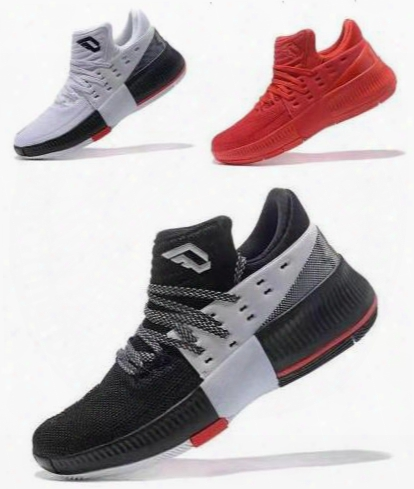 Damian Lillard Dame 3 Rip City Roots Cny Chinese New Year Mans Basketball Shoes Aaaa High Quality Wholesale Man Size Us 7 12 Sneaker