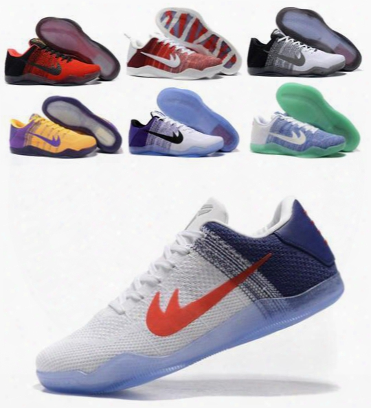 Fashion Kobe 11 Basketball Shoes Hot Bryant Kobe Kb 11 Sneakers Chaussure Men Basketball Shoes Size:7-12