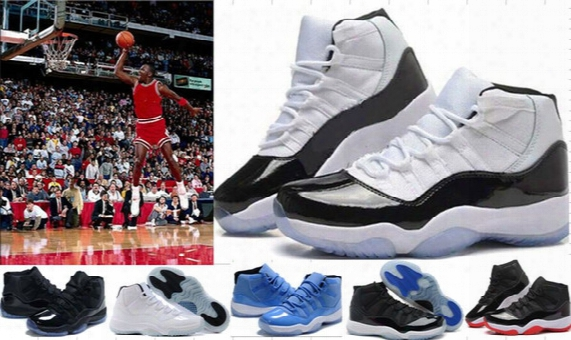 High Quality (11)xi Legend Blue Basketball Shoes Men 11s Sports Shoes Wholesale Women Men Trainers Athletics Boots Retro 11 Xi Sneakers 7-12