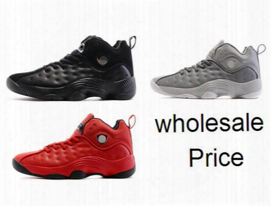 Jumpman Team Ii High Quality Wholesale Men Size Genuine Leather Discount Basketball Shoes Free Shipping