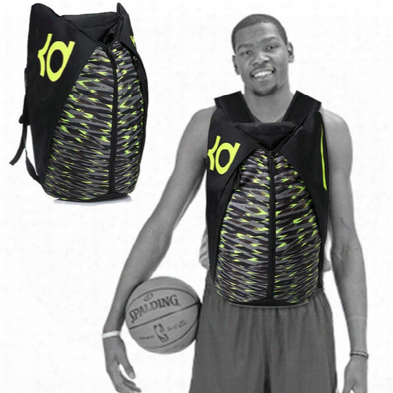 Kevin Wayne Durant Backpack Basketball School Bag Durantula Daypack Star Kd Schoolbag Outdoor Rucksack Sport Day Pack