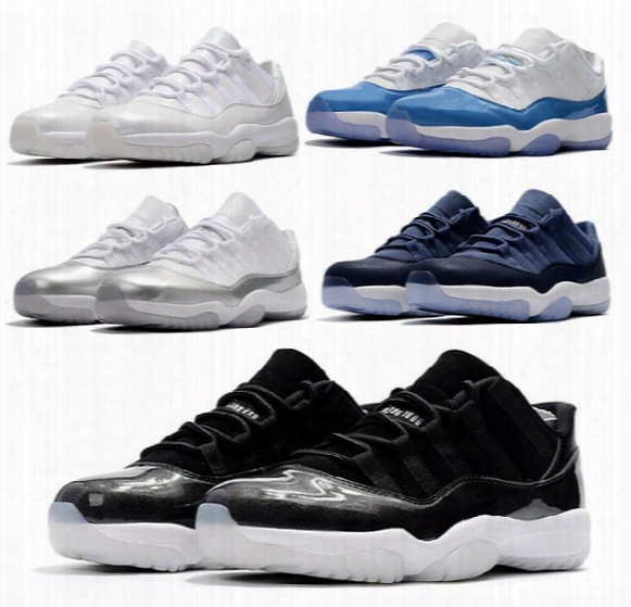 Low Barons 11s Gs Blue Moon 11s Heiress Retro Low Unc Xi Bred Wholesale Basketball With Box Free Shipping