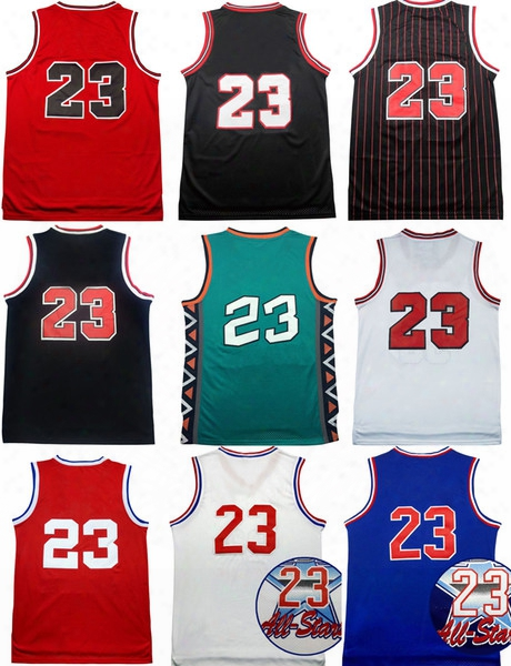 Men 23 Space Jam Jersey Looney Toones Squad Team Dream 96 98 All Star Tunesquad Throwback College North Carolina Michael Basketball Jerseys