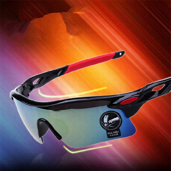 Men Fashion Cycling Bicycle Road Mkuntain Outdoor Sports Driving Color Film Sun Glasses Safety Men Driver Eyewear Uv400 Goggle 12pcs/lot