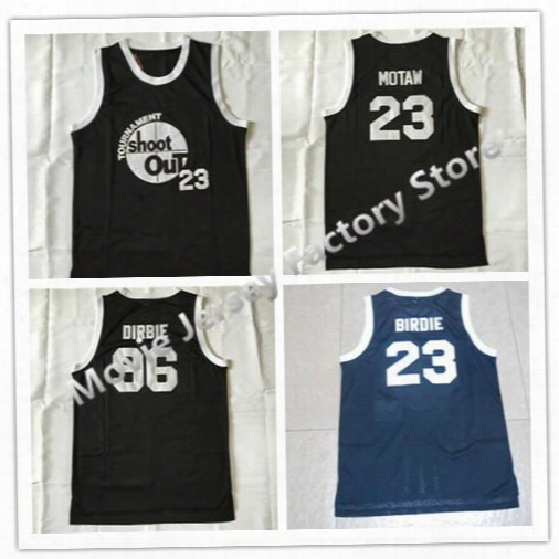 Movie Jerseys #96 Tupac Shakur Dirbie Tournament Shoot Out Birdmen Jersey #23 Motaw Above The Rim Black Stitched Basketball Jersey