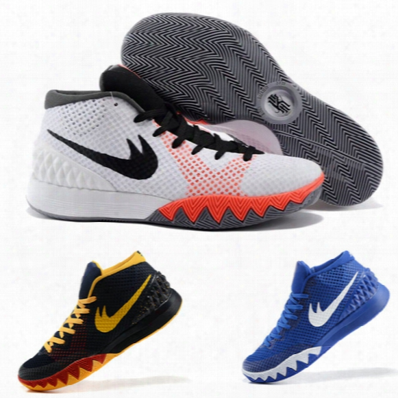 New 2016 Kyrie Irving Shoes Kyrie 1 Men Basketball Shoes Sneakers Dream Bhm Easter All Star Sports Shoe Athletic Sneaker 8-12