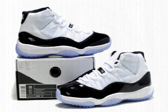 New Arrival Mens Basketball Shoes , Retro Concord Sport Shoes, 0$ Shipping
