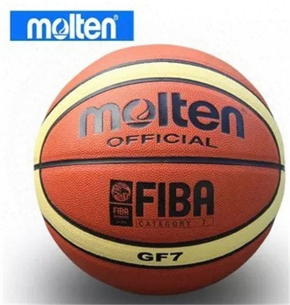 New Brand Hight Quality Molten Gf7 Basketball Ball Pu Materia Official Size7 Basketball Free With Net Bag+ Needle+pump