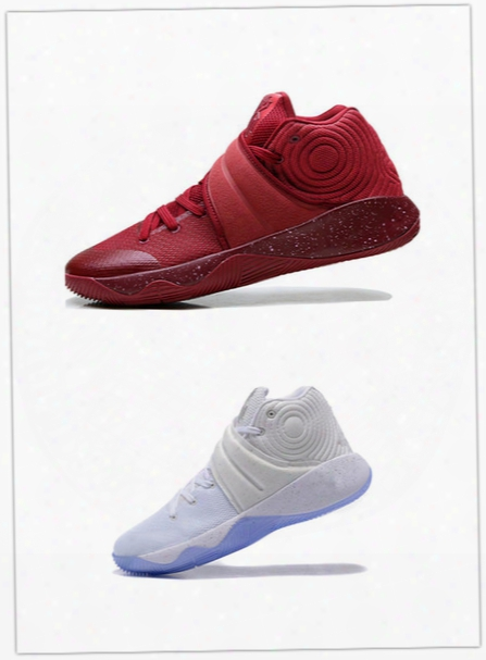 New Lmtd 2017 Rio Olympic Kyrie 2 Silver Speckle White 2s Gold Medal Men Basketball Shoes Kyrie Irving Usa Red Wine Gold Sport Shoes