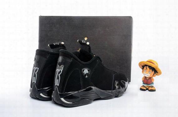 New Retro 14 Black Cat Fashion Design For Boy 14s Xiv Mens Basketball Shoes Wholesale Free Shipping High Quality