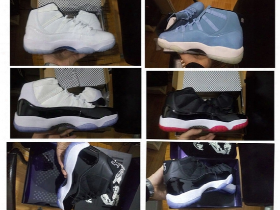 Retro 11s Space Jam Mens Basketball Shoes 45 Back Women Sneaker High Quality Sports Sneakers 11 Boots White Black Red