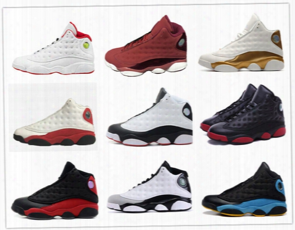 Retro 13 Basketball Shoes Hof Play Off Bred He Got Game Chicago Dmp Black Cat History Of Flight Barons Grey Toe Michael Sports
