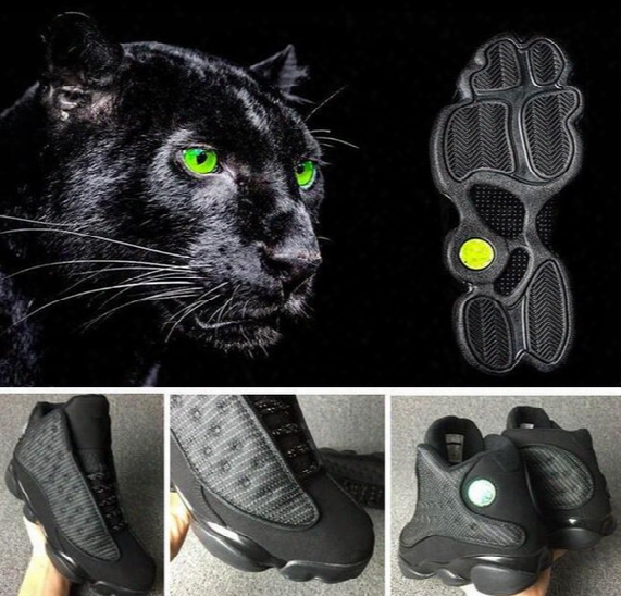 Retro 13 Gs Xiii Black Anthracite Black With Box Best Quality Wholesale Basketball Shoes Men