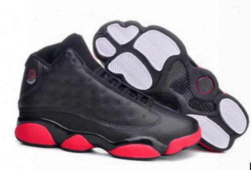 Retro 13 Shoes Xiii Dirty Bred Discount Mens Basketball Shoes Black Gym Red Black Mens Sports Shoes Trainers Cheap Athletics Boots