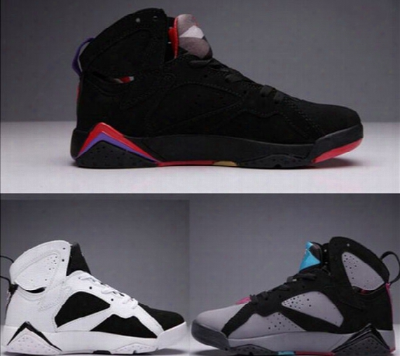 Retro 7 Vii 7s Basketball Shoes Women Men 7s Sneakers Retros Shoes 7s Vii Authentic Trainers Zapatos Mujer Cheap 7 Vii Retro Sports Shoes 12