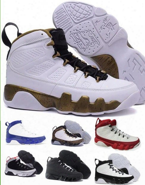 Retro 9 Basketball Shoes Men's Man Superior Quality Outdoor Discount Zapatillas Women Replicas Authentic Retro Shoes Viiii Size Us7-