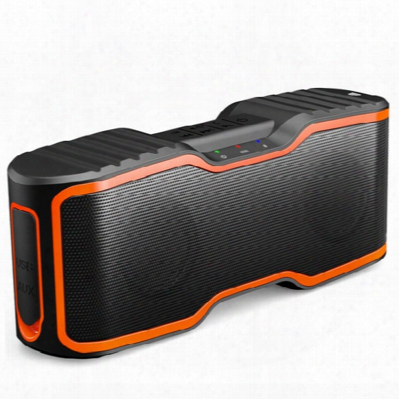 Sport Portable Wireless Bluetooth Speakers 4.0 With Waterproof Ipx7,20w Bass Sound,stereo Pairing,durable Design For Iphone