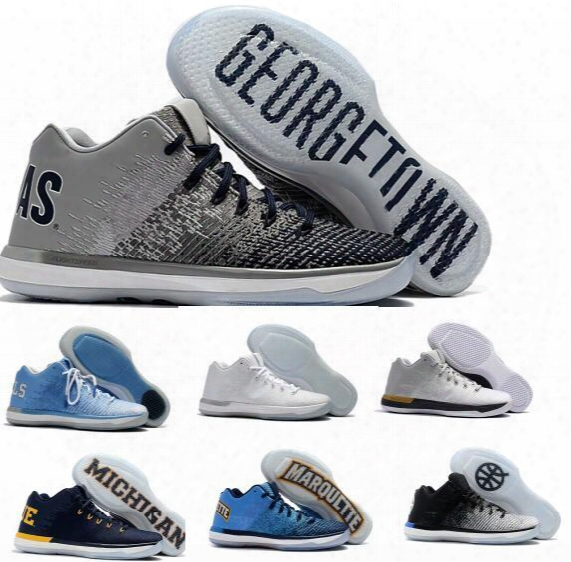 Summer Retro 31 Men Basketball Shoes Low Sport Zapatos Hombre Men's Man Real Air Retros 31s Xxxi Sky Blue Athletic Sneakers Size 7-12