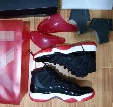 Bred retro 11s man basketball shoes with originals box size eur 41-47 retro 11S free shipping wholesale
