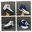 NEW Mens Air Retro 12 Basketball Shoes for Men Sport Sneakers Taxi flu game master GS 12s xii White Green Black Blue US8-US13