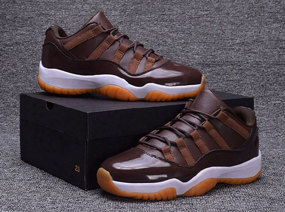 Top Quality Retro 11 Banned Basketball Shoes (11)xi Men Sports Shoes Mens Trainers Athletics Boots Wholesale Cheap Sneakers Chocolate