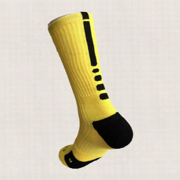 Trousers Sports Socks In The Barrel Of Men's Basketball Elite Quick-drying Socks
