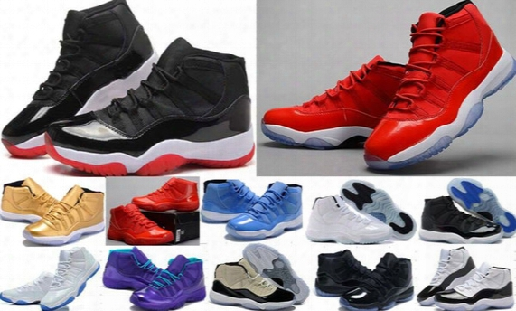 Wholesale Legend Blue 11s Basketball Shoes (11)xi Good Quality Men Sports Shoes Women Mens Trainers Athletics Boots Retro 11 Sneakers Cheap