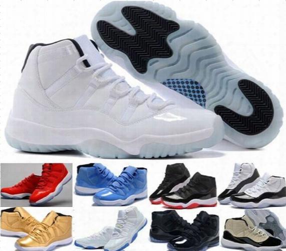 Wholesale Legend Blue 11s Basketball Shoes Good Quality 11s Sports Shoes Women & Men 11s Basketball Shoes Cheap Retro 11 Xi Sneakers 4-12-13
