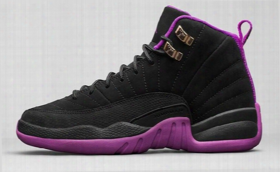 Wholesale Retro 12 Xii Valentine's Day Hyper Violet Womens Basketball Shoes Athletics Womens Sports Sneakers High Quality Free Shipping