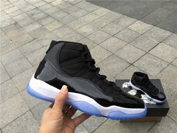 """With Box + Number """"45"""" Space Jam Retro 11 Bred Basketball Shoes For Men Women Top Quality Airs 11s Athletic Sport Sneakers Size 36-47"""