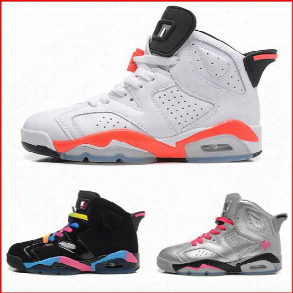 With Box Retro 6 Basketball Shoes Men Women, Wholesale Retro Shoes Black Infrared Sport White Blue Pink Oreo Maroon Carmine Gs Valentine