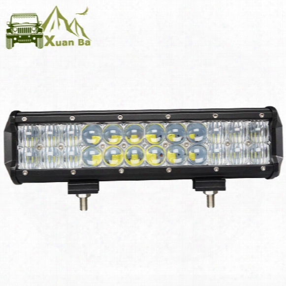 Xuanba 12 Inch 120w 5d Led Work Light Bar For Auto Tractor Boat Offroad 4wd 4x4 Truck Suv Atv Spot Flood Combo Beam 12v 24v Barra Led Lamp