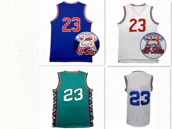 1991 1992 1996 2003 All Star Jersey # 23 Men Basketball Jersey Cheap Sale Wholesale Men Sports Basketball Jerseys Size S-xxl Mix Order