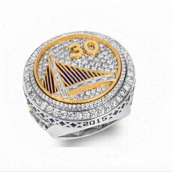 2015 Newest Design Warriors Basketball Championship Rings For Us Size 8 To Us Size 12 Available