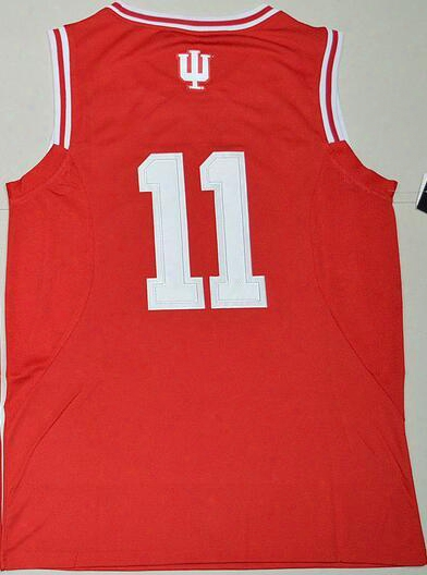 2016 New Men Indiana Hoosiers Yogi Ferrell 11 Ocllege Basketball Jersey - Red,wholesale Discount Cheap Mens Athletic Outdoor Basketball Wear