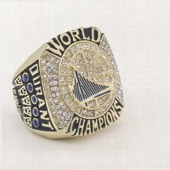 2017 Golden State Durant Basketball World Championship Rings Size 6-15
