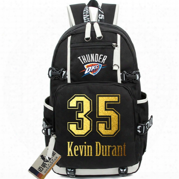 35 Kevin Durant Backpack Basketball Kd School Bag Hot Sale Daypack Star Fans Schoolbag Outdoor Rucksack Sport Day Pack