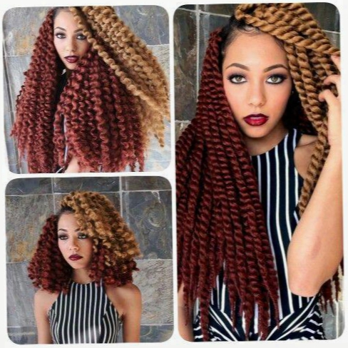 5pcs 12inch Havana Mambo Twist Crochet Braid Hair Havana Twist Senegalese Twist Hair Crochet Braids Hair