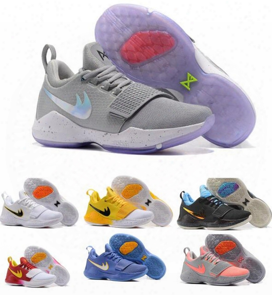 Air Paul George Basketball Shoes Men Mens China Loafers Designer Yellow Zoom Pg 1 Trainers Tennis Shoe Femme Homme Replica Sneakers Size 7-1