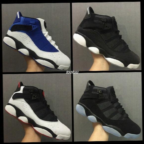 Air Retro 6 Six Rings (91 92 93 94 96 97 98)for Mens Basketball Shoes Sneakers Black White Blue Retros 6s Sports Shoes Alternate Eur 40-45