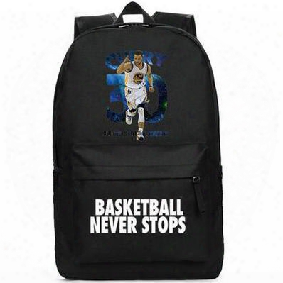 Basketball Backpac K Stephen Curry School Bag Alliance Star Daypack Best Club Player Schoolbag Outdoor Rucksack Sport Day Pack
