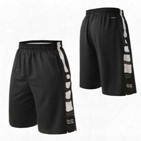 Black And White Basketball Shorts Elite Flower Shorts Black History Sports Fitness Running Fifth Length Pants
