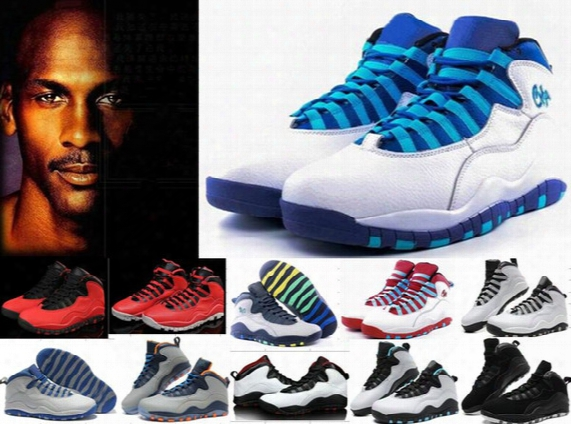 Cheap Air Mens Retro 10 X 10s Basketball Shoes 10s Bulls Over Broadway Rettros Sports Shoes Training Boots 10s Sneakers Trainers 4-5-9-11-13
