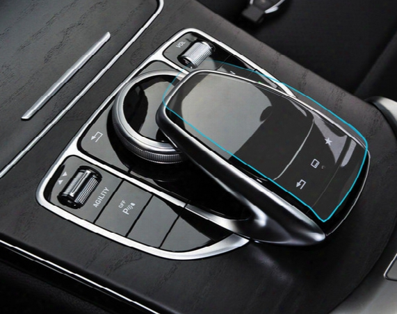 Dedicated To The New Mercedes-benz C-class Glc Gle New E-level Control Mouse Touch Protective Film Mouse Foil