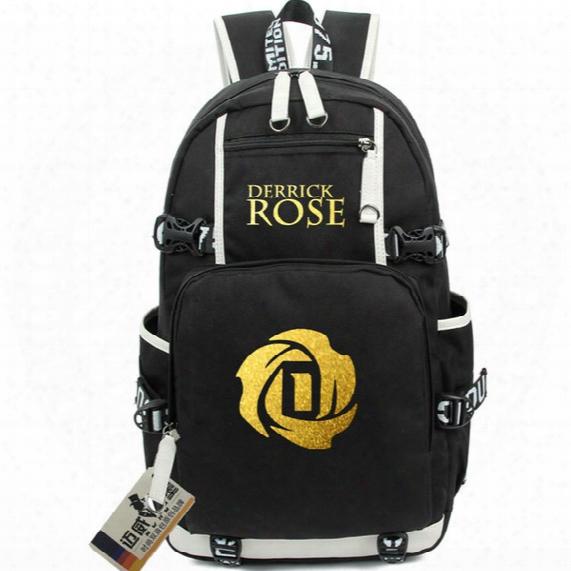 Derrick Rose Backpack Basketball Dr School Bag Grate Daypack Eco Friendly Schoolbag Outdoor Rucksack Sport Day Pack