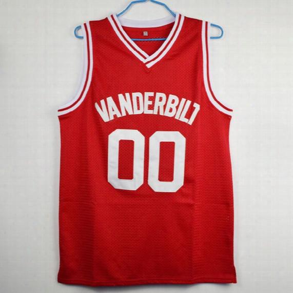 Family Matters Steve Urkel 00 Vanderbilt Muskrats High School Basketball Jersey Stitched Sewn-red